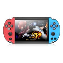4.3 inch X7 Retro Handheld Game Console 8GB Built In 10000 Games