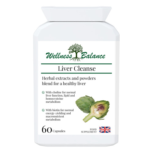 Healthy Liver Function - Cleanse & Flush Organs - Detox - 60 capsules