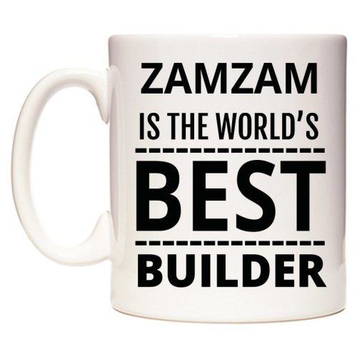 ZAMZAM Is The World's BEST Builder Mug