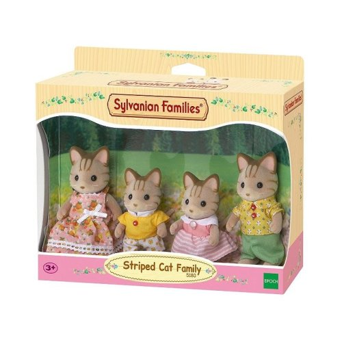 Striped Cat Family