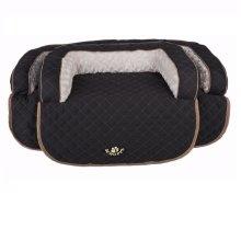 Scruffs Black Wilton Sofa Pet Bed