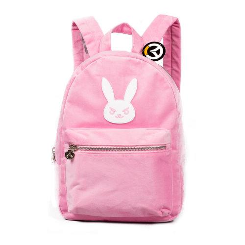 OVERWATCH D.VA Hero Backpack, Unisex, Pink (BP003OW)