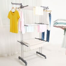Large Foldable Clothes Hanger | Hanging Laundry Airer