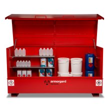 Armorgard FlamBank Flammable Liquids Safe Storage Site Chest Box - 2370x985x1220mm