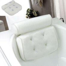 3D Mesh Neck Back Premium Waterproof Luxury Comfortable Bath Spa Pill