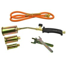 Propane Butane Gas Heating Torch Burner Hose Regulator Roofers Plumbers Kit