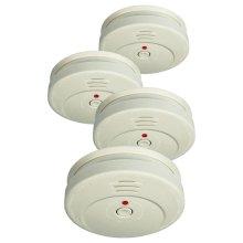 ELRO Smoke Detector Sensor Tester RM149C/4 Set of 4 Home Security Cordless