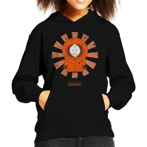 South Park Kenny Retro Japanese Kid's Hooded Sweatshirt