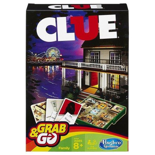 Grab & Go Travel Cluedo Game.Hasbro Gaming