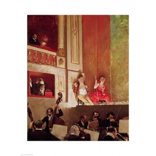 Revue at The Theatre Des Varietes Poster Print by Jean Beraud - 24 x 36 in. - Large