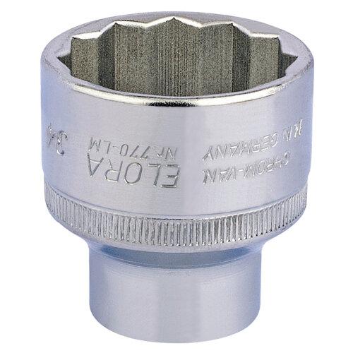 """34mm 1/2"""" Sq. Dr. Elora Bi-Hexagon Socket"""