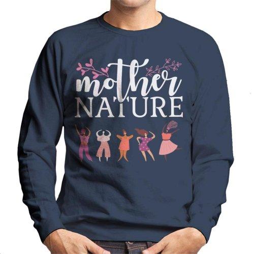Girl Power Mother Nature Men's Sweatshirt