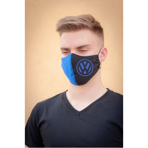 Volkswagen Facemask, washable, 100%cotton