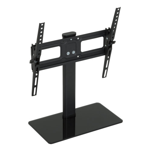 "King Table Top Base Replacement Pedestal Stand With Tilting Bracket For 32"" - 50"" by TV Furniture Direct"