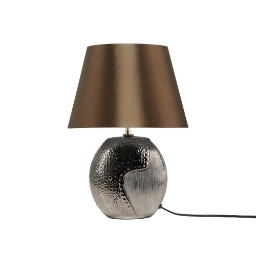Table Lamp Ceramic Brown ARGUN