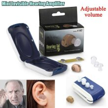 1 Pair Invisible Mini Ear Hearing Aid Enhancer Amplifier Sound Voice Loudly Set