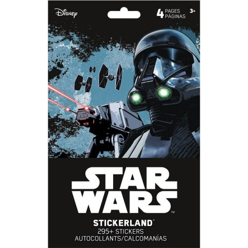 Stickerland Pad - Star Wars - Saga - 4 pages Toys Gifts Stationery New st5211
