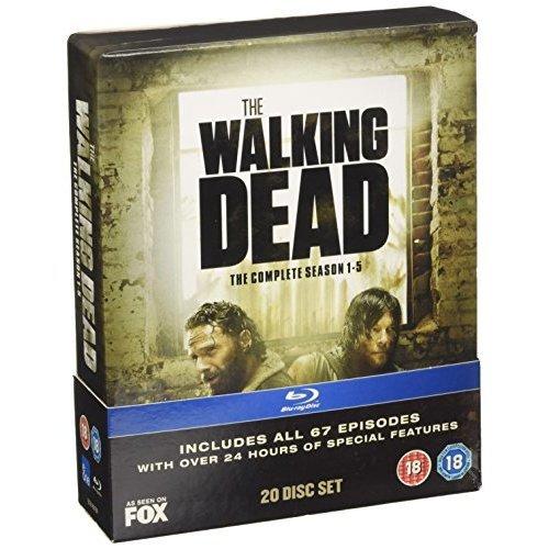 The Walking Dead - Season 1-5 [Blu-ray] [2015] - Used