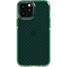 tech21 Evo Check for Apple iPhone 12 Pro Max 5G - Germ Fighting Antimicrobial Phone Case with 3.6 Meter Drop Protection,Midnight Green