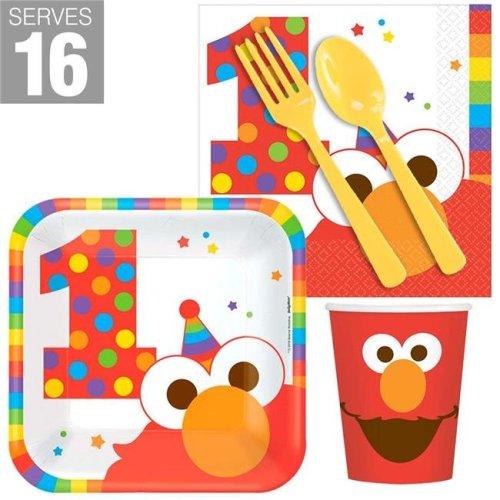 Buyseasons 267530 Elmo Turns One Snack Pack - Pack of 16