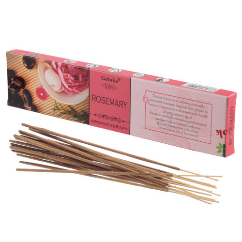 Goloka Incense Sticks - Rosemary - Set of 12