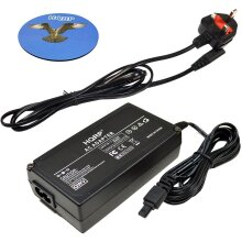 HQRP Replacement CA-560 AC Adapter / Power Supply for Canon ZR10, ZR20, ZR25MC, ZR30MC, ZR40, ZR45MC, ZR50MC Digital Camcorder plus HQRP Coaster