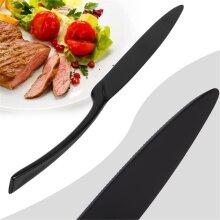 Western Food Stainless Steel Cutlery Steak  Fork Knife Spoon Tea Spoon