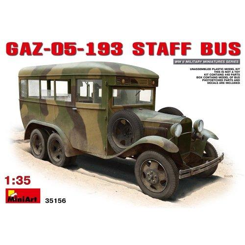 Min35156 - Miniart 1:35 - Gaz-05-193 Staff Bus