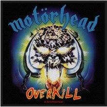 Motorhead Patch Overkill band logo new Official woven (10cm x 10cm)