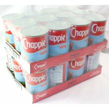Chappie Original Dog Food  24 x 412g Vet Recommended