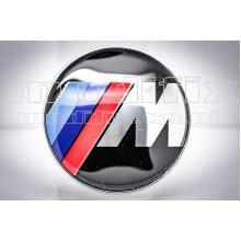 modifix_co_uk BMW M Sport Black Front / Rear Badge Emblem Logo Replacement Genuine Modified 82mm for BMW 1 2 3 4 5 6 7 Series
