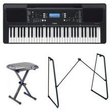 Yamaha PSR-E373 Portable Electronic keyboard 61 keys Pack 5