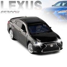 1:32 lexus es300h alloy pull back car model(Black)