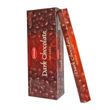 Krishan Incense - Dark Chocolate Fragrance Room Aroma Joss 120 Sticks