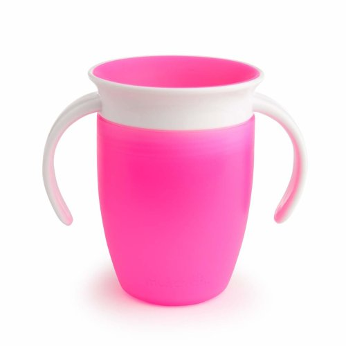Munchkin Miracle 360 Degree Trainer Cup 207ml - Pink | Toddler Training Cup