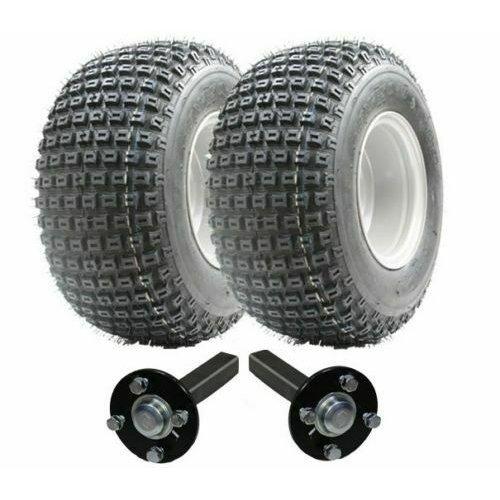 ATV trailer kit - Quad trailer - wheels + hub / stub, No Hitch 200kg