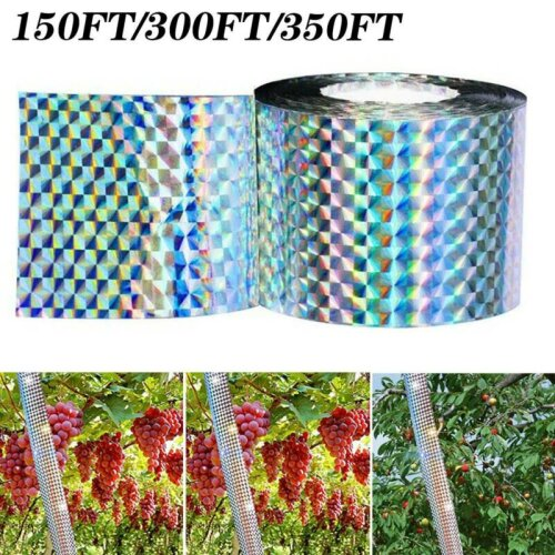 Bird Repellent Scare Tape - Keep Away Pigeons, Ducks, Crows and More - Deterrent Tape