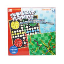 Traditional Twin Pack Giant Playmates Ludo & Snakes & Ladders Game