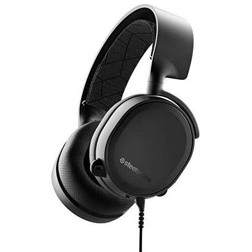 SteelSeries Arctis 3, All-Platform Gaming Headset for PC, PlayStation 4, Xbox One, Nintendo Switch, VR, Android and iOS, Black