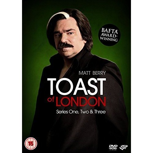 Toast Of London Series 1 to 3 Complete Collection DVD [2015]