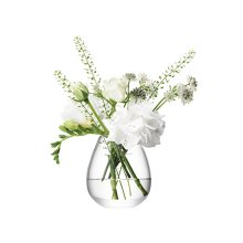 LSA Flower Mini Table Vase, Elegant Home Décor
