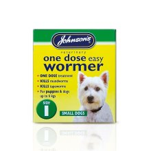 Johnsons Veterinary 1 One Dose Easy Dog Wormer