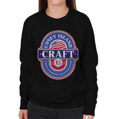 Coney Island Craft Ale Women's Sweatshirt