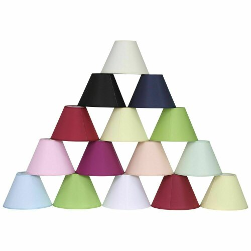 """9"""" 12"""" 14"""" Dual Coolie Lampshade"""