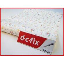White Flower Design Contact Paper 100cm x 45cm Self Adhesive Vinyl 2494