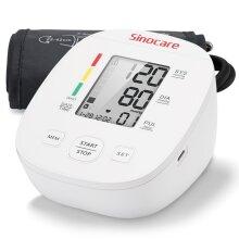 Sinocare LCD Automatic Blood Pressure Monitor Upper Arm Pulse Machine