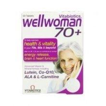 Vitabiotics - Wellwoman 70+  30 VTabs