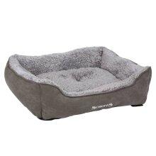 Scruffs Box Bed Grey M Small Animals Pet Supply Dog Cat Nest House Puppy Mat