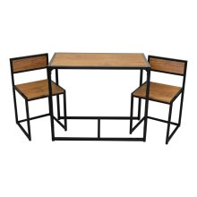 Harbour Housewares Compact Kitchen Table & Chairs Dining Set