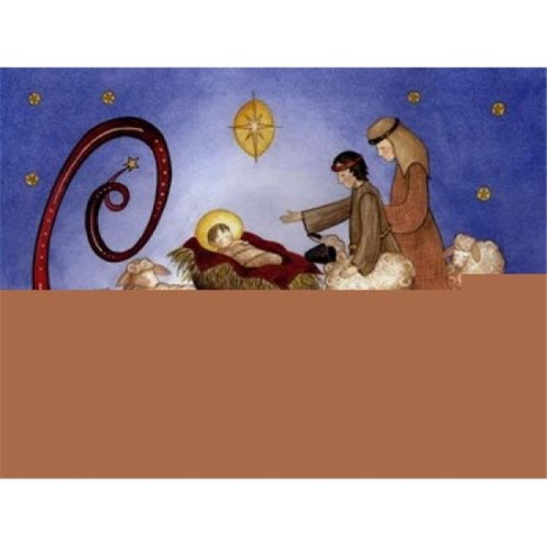 A Savior is Born Poster Print by Linda Spivey - 16 x 12 in.